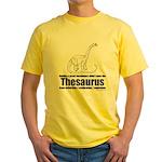 Thesaurus Yellow T-Shirt
