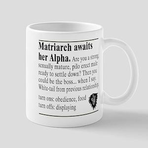 Matriarch Ad 2-Sided Mug