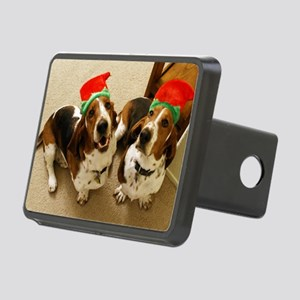 howliday_bassets Rectangular Hitch Cover