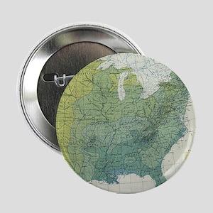 "Vintage United States Precipitation M 2.25"" Button"