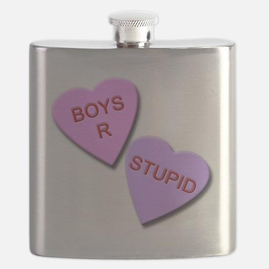 Boys R Stupid Flask