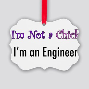 chick Picture Ornament