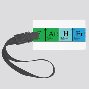 chem_father_alone Large Luggage Tag