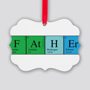 chem_father_alone Picture Ornament
