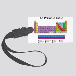 Periodic Table Large Luggage Tag