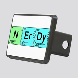 nerdy_color_bk Rectangular Hitch Cover