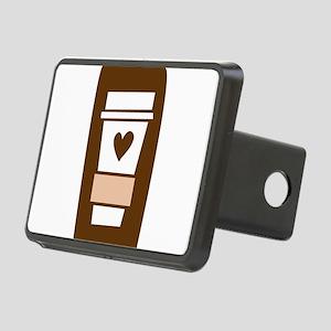 latte Rectangular Hitch Cover