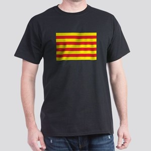 Catalonia Flag Dark T-Shirt