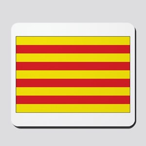 Catalonia Flag Mousepad