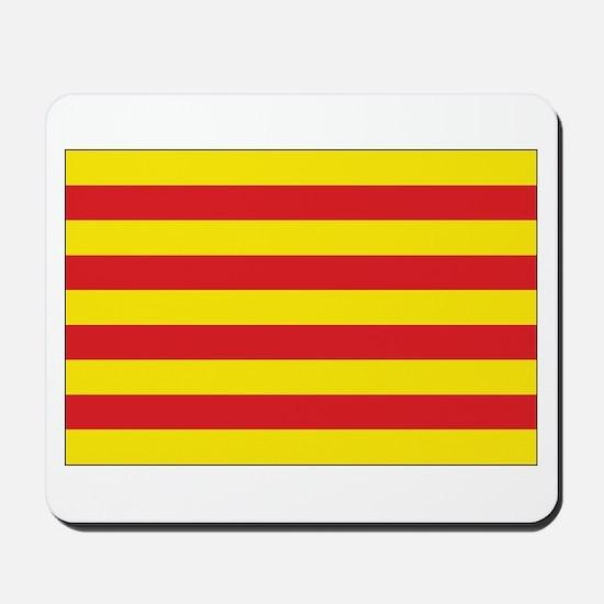 Catalonia Flag Mousepad