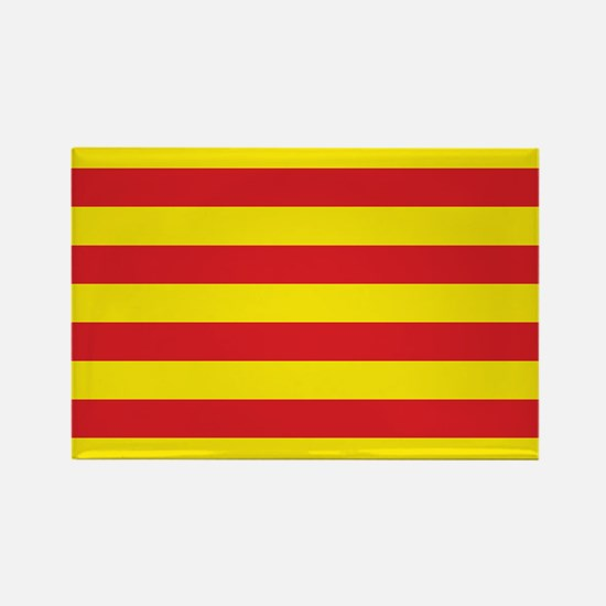 Catalonia Flag Rectangle Magnet