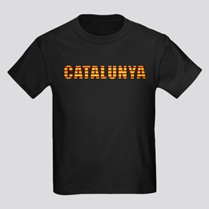 Catalonia Kids Dark T-Shirt