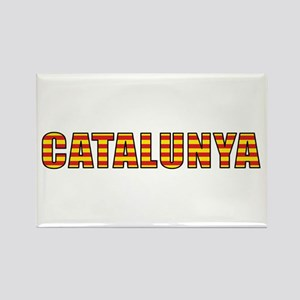 Catalonia Rectangle Magnet