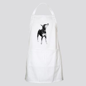 Miniature Pinscher Sketch Apron