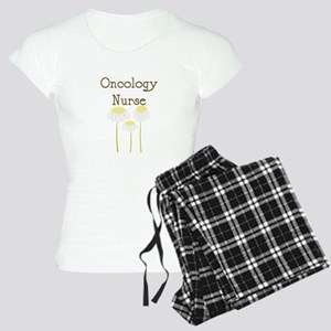 Oncology Nurse daisies shirt Women's Light Paj