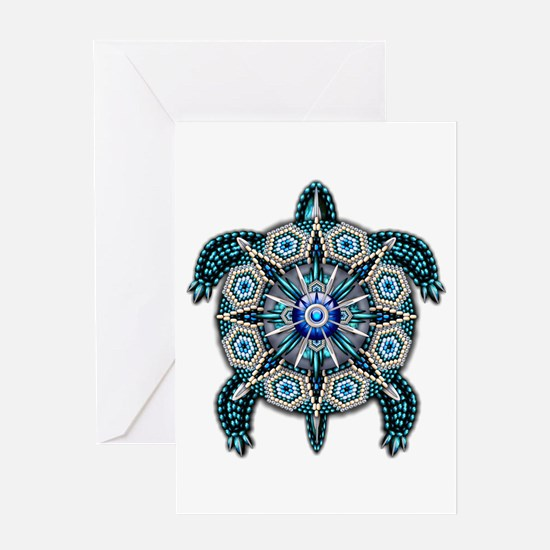 Native American Turtle 01 Greeting Card