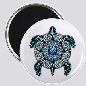 Native American Turtle 01 Magnet
