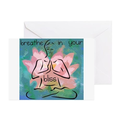 Breathe In Your Bliss Greeting Cards (Pk of 10)