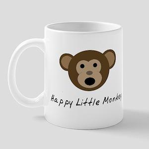 Happy Little Monkey Mug