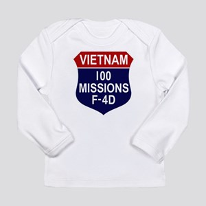 100 Missions Long Sleeve Infant T-Shirt