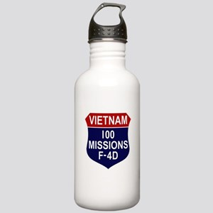 100 Missions Stainless Water Bottle 1.0L