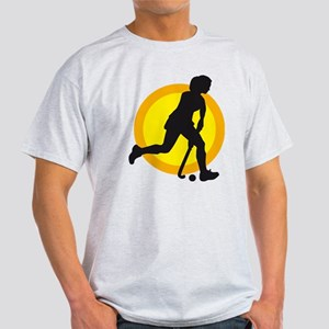 female hockey player Light T-Shirt