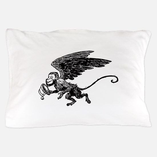 Winged Monkey Pillow Case