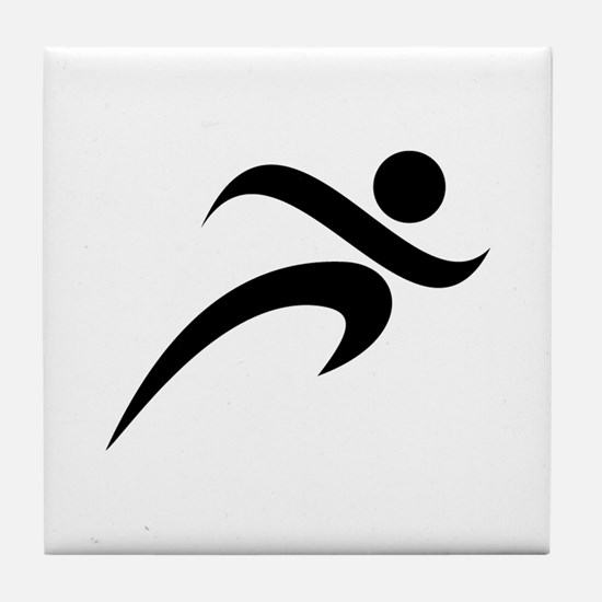 Running Tile Coaster