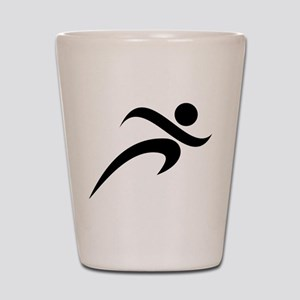 Running Shot Glass