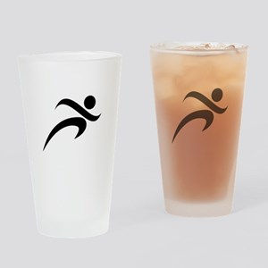 Running Drinking Glass