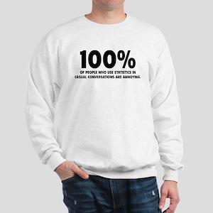 100% Statistics Sweatshirt