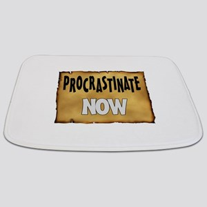 PROCRASTINATE Bathmat