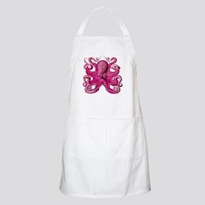 Pink Octopus Apron