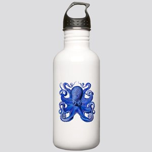 Blue Octopus Stainless Water Bottle 1.0L