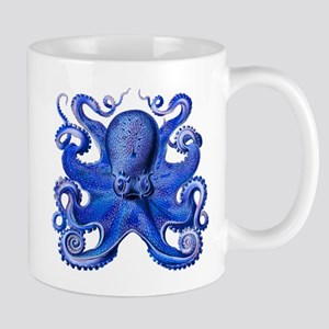 Blue Octopus Mug