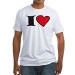 I love... Fitted T-Shirt