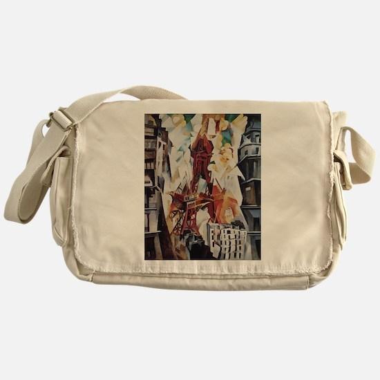 Robert Delaunay Eiffel Tower Messenger Bag