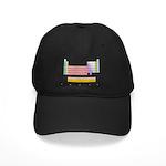 Colorful Periodic Table Black Cap