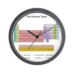 Colorful Periodic Table Wall Clock