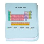 Colorful Periodic Table baby blanket