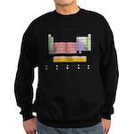 Colorful Periodic Table Sweatshirt (dark)