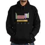 Colorful Periodic Table Hoodie (dark)