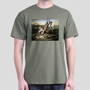 Watson and the Shark Dark T-Shirt