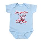 Jacqueline On Fire Infant Bodysuit