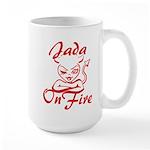 Jada On Fire Large Mug