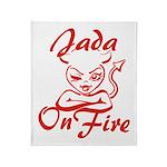 Jada On Fire Throw Blanket