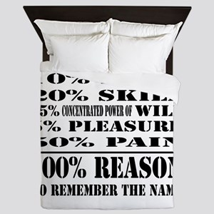 remember the name frontonly copy.jpg Queen Duvet