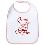 Jana On Fire Bib