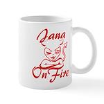 Jana On Fire Mug