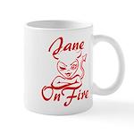 Jane On Fire Mug